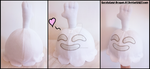 Commission: High Five Ghost Plushie by Sarasaland-Dragon