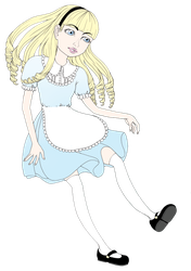 Old School Alice by Lollypopp