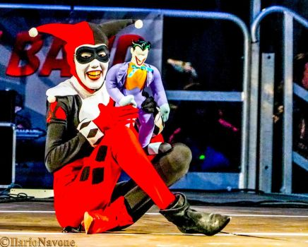 Harley Quinn and Mistah J play time! by stellinanera