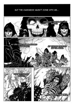 Thorn of hate - Dark Souls comic PAG 11