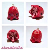 Baby Octopus charm by xsweettoothx