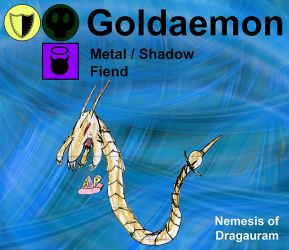 Goldaemon by apcomics