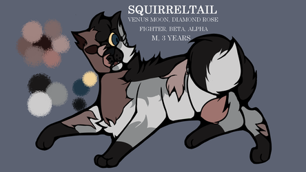 Squirreltail Reference  by a-twilight-child