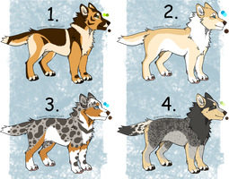 Dog Adopts - CLOSED by Lunet-Adopts