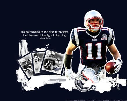 Julian Edelman wallpaper by faded-ink