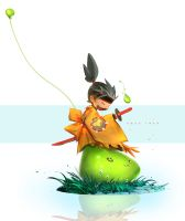 MAPLESTORY!! : Youtube Character 2 by rossdraws