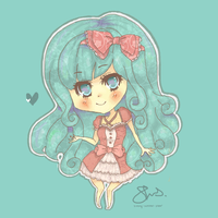 Chibi Commission 15 by Sunny-Winter-Star