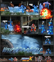 MMX:U49 - S1Ch10: The Sewers (Page 11) by IrregularSaturn
