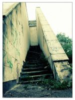 ::damaged stairway:: by deathtroyer2101