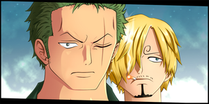 Zoro and Sanji by dDsign