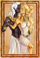 Onyx and Gold by temiel