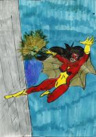 spiderwoman by Taylor2984