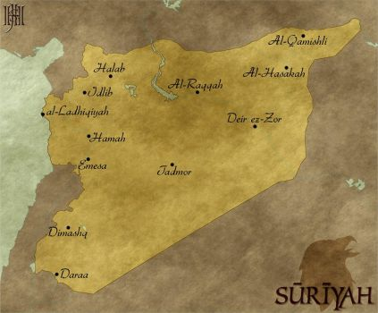 Map of Suriyah by Cirias