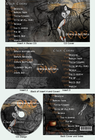 Darkness Becomes One-CD Design by turtlegirlman