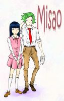 Misao and Kudoh by HOOtingOwl