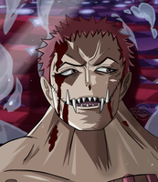 One Piece Chapter 902 Katakuri Smile Colors Anime by Amanomoon
