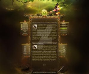 MMORPG Layout FOR SALE! by LA-Graphic