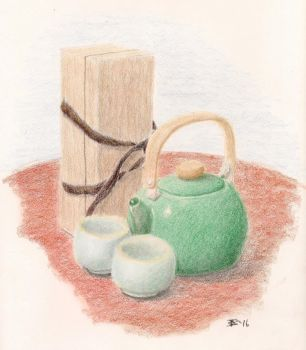 The Tea Set by whitefennec