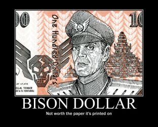 Bison-dollar by OutbreakGirl