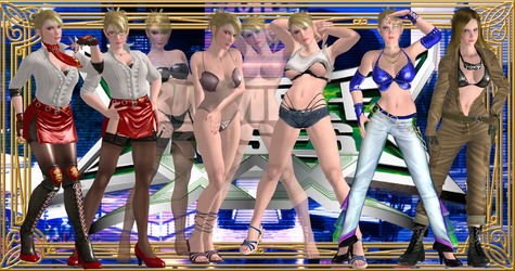 Rumble Roses XX - Miss Spencer Super Pack by MJUMP
