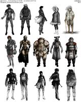 Misc. Character Concepts by Jaruzel