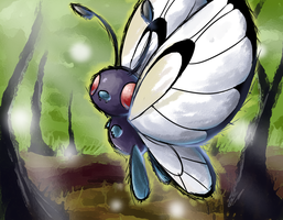 AC - Butterfree by nintendo-jr