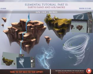 Elemental Tutorial. Part II: Earth and Air by Axsens