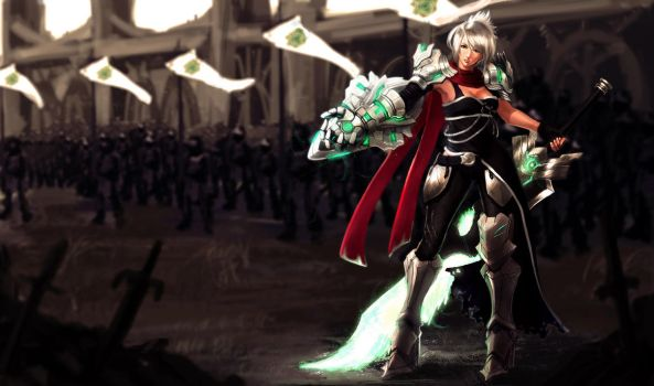 Glory of War Riven by ArtNotHearts