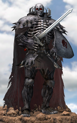Skull Knight by Yare-Yare-Dong