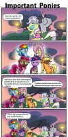 Important Ponies by SouthParkTaoist