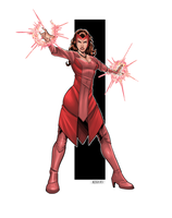 Scarlet Witch by RIVOLUTION