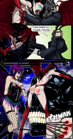 Commission: (comic) Karnacht v Succubus by ashion