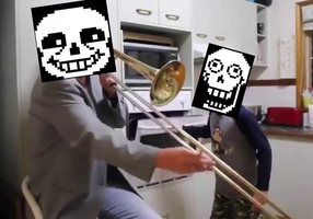When toriel isnt home by Rookie-Snookie