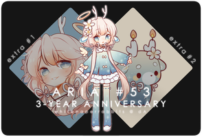 [CLOSED] 3-Day Auction CYOP ARIA + EVENT Reminder by whitepaperrabbits