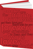Books are Dumpees by mezzotessitura