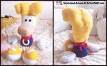 Commission: Rayman Plush Doll by Sarasaland-Dragon