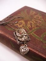 Geared Up Necklace by GildedGears