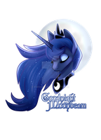 Goodnight Moonbeam by TwigHat