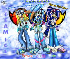 Team Ice :GROUP SHOT: by Candy-Ice