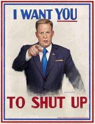 I WANT YOU, TO SHUT UP by SharpWriter