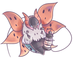 Ulgamoth | Volcarona Commission