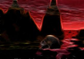 Blood of the earth by FractalEdi