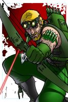 green arrow revisited by AlexDeB