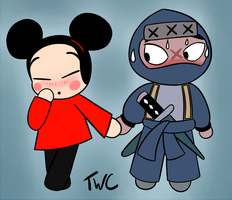 Pucca Loves Tobe?? by tellywebtoons