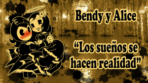 Bendy and Alice Angel dance by reina-del-caos