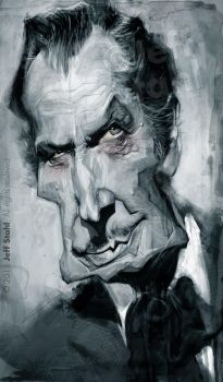 Vincent Price, by Jeff Stahl by JeffStahl
