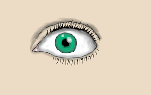 Eye (With Color) by SamanBrosefineIzzle