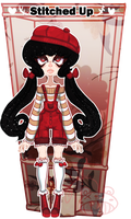 [Gashapon] Stitched Up [CLOSED] Example Girl SALE by ShatteredSightAdopts