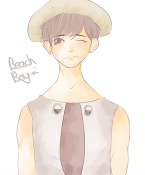 Beach Boy by shirasen