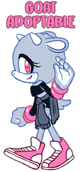 Goat Sonic Adoptable CLOSED by ProBOOM